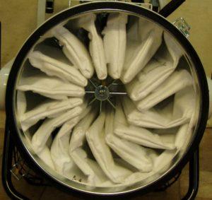 Filter Reinigungsmaschine
